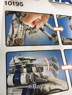 Lego 10195 République Dropship Avec At-ot Walker Retraité Nisb