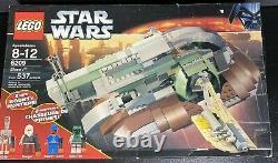 Lego 6209 Star Wars Slave 1 I 2006 Set Dengar Bespin Guard New In Sealed Box