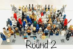 Lego Star Wars 41 Random Lots De 4 Figurines Droids + Armes Et Usedmix