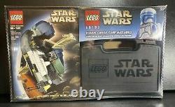 Lego Star Wars 7153 Jango Fett's Slave I &cargo Case 65153 Factory Sealed Mint