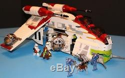 Lego Star Wars Original 7163 Republique Gunship 1ère Édition 100% Figues Complet +
