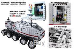 Lego Star Wars Personnalisés Ucs Rc Clone Turbo Réservoir 8098 75151 10143 75192 10221 75292