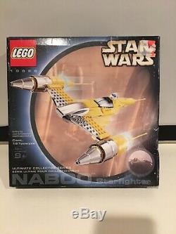 Lego Star Wars Starfighter Naboo Ucs 10026 Nib Scellés