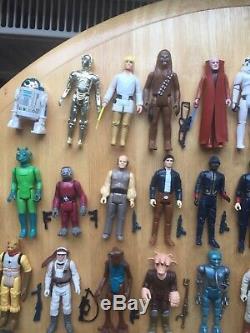 Les Figurines Vintage Star Wars Complètent Le Bundle 79 Run 1977 Vgc 1977