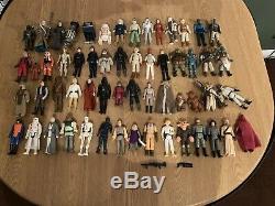 Lot De Figurines D'action Vintage Star Wars, Toutes Originales