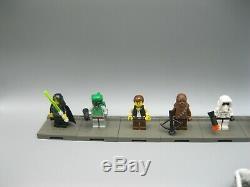 Lot Vintage Lego Star Wars Miniatures Packs Figure Slave 1 B-wing Snowspeeder
