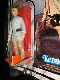 Luke Skywalker Jedi Kenner 1977 Star Wars 12 A Retour Retour Htf Vintage Original