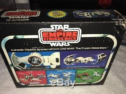 Millésime 1980 Star Wars Esb Tie Bomber Moulage Sous Pression Mib Kenner Ultra Rare