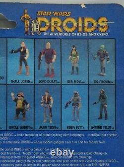 Millésime 1985 Sise Fromm Kenner Star Wars Moc Figurine Dessin Animé Droides Rare