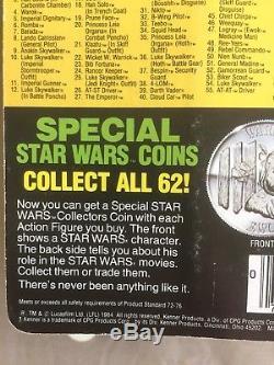 Mocassin Vintage Star Wars Amanaman, Potf Original Avec Chiffre Scellé Coin