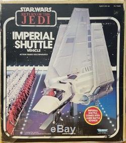 Navette Impériale Kenner Star Wars Vintage De 1984 Avec Boîte D'origine