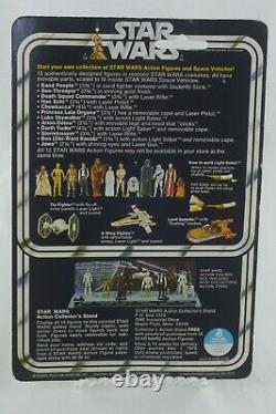 Near Mint 1977 Star Wars See-threepio (c-3po) Sur 12 Back Card Vintage Original