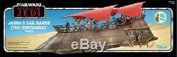 Nib Star Wars Vintage Collection Jabbas Sail Barge Khetanna Jabba Le Hut Figure