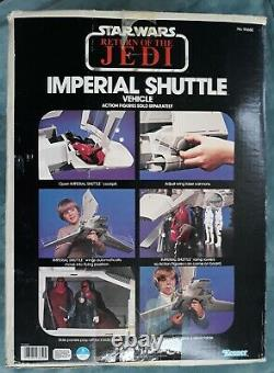Nice Vintage 1983 Kenner Star Wars Rotj Imperial Shuttle 100% Complete Mib Boxed