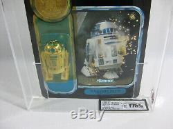 Nouveau 1985 Sabre Laser Instantané Star Wars R2-d2 Vintage 17 Derniers Potf Ukg 70/85/80