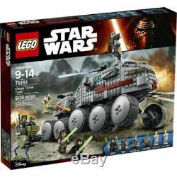 Nouveau Dans La Boîte! Lego Star Wars Clone Turbo Réservoir 75151