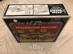 Nouveautés Star Wars Hasbro Collection Vintage Millenium Falcon Tru Exclusive
