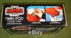Palitoy Star Wars Vintage L'empire Contre-attaque Twin-pod Cloud Car Boxed