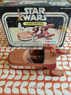 Paysage Vintage Palitoy Star Wars # 33322. 1977 Boîte D'origine. Bonne Condition