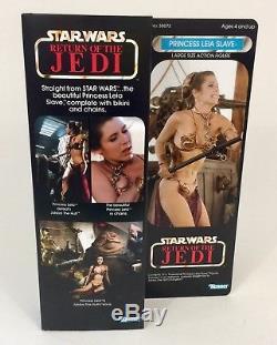 Personnalisé Princesse Leia Slave Outfit Star Wars Vintage 12 Pouces Grande Figure Rare