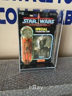 Pièce De Moc Vintage Star Wars Ev-9d9 Parler 1984 Potf 92 Retour Dernière 17 Figure