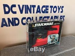 Pistolet Laser Vintage Kenner Star Wars 1978 Pistolet Blaster-mib De Han Solo