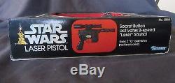 Pistolet Laser Vintage Kenner Star Wars 1978 Pistolet Han Solo