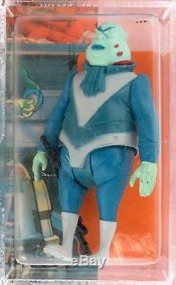 Plus Rare Figure Star Wars VLIX Afa Graded Série Droids Tv Moc Vintage