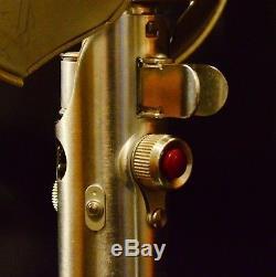 Poignée Flash Graflex Vintage À 3 Cellules Star Wars Light Saber Bouton Rouge
