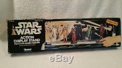 Présentoir D'action Au Détail Vintage Star Wars 1979 Complet Avec Boîte
