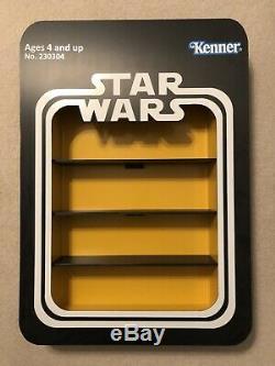 Présentoir De Figurines Anh Personnalisé Star Wars Vintage