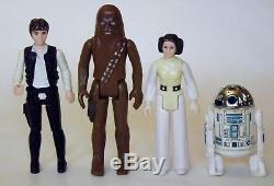 Présentoir Vintage Star Wars 1977 Mail Away & First 12 Figurines D'action Kenner