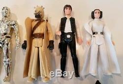 Présentoir Vintage Star Wars 1977 Mail Away & First 12 Figurines Kenner
