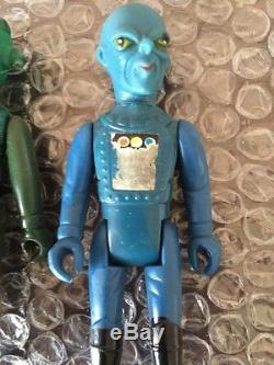 Rare 7 Raiders Starland De Tomland Et Lot De 6 Armes Vintage Star Wars Lot Yasu Coky