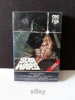 Rare! Sortie Originale Vintage 1983 Scellée! Bande De Vhs Grosse Boîte Star Wars Cbs Fox