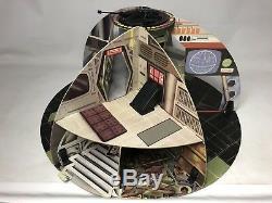 Rare Star Wars Vintage Palitoy Death Star Coffret + Pièces D'origine Mib