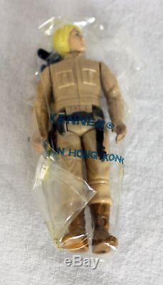 Rare! Vintage Kenner Star Wars Lâche Esb Figure Mailer Pack 9 Figures Dans Le Joint