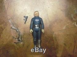 Rare Vintage Star Wars Bleu Snaggletooth Figure Complète W Arme