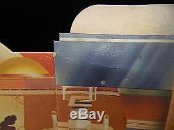 Rare Vintage Star Wars Créature Cantina Toile De Fond Toile De Jeu 1977 Sears