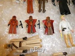 Rare Vintage Star Wars Figures Années 1970