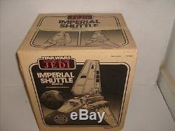 Rare Vintage Star Wars Kenner Imperial Navette Usine Scellé Véhicule Nouveau