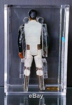 Rare Vintage Star Wars Pré-production Lando Skiff Premier Coup De Torse Pull Afa Q85