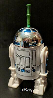 Repro Vintage Pop Up Light Saber R2-d2 Kenner Star Wars Potf Les 17 Dernières Forces