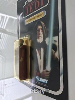 Retour Du Jedi Obi-wan Kenobi Action Figure 77 Back Moc Dans Le Retour Vintage Star Wars