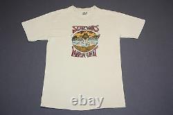 S Vtg 70s 1979 Star Wars Empire Pose Back Crew Seulement T-shirt 73.110