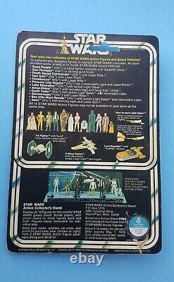 Star Wars 12 Back Luke Skywalker Farmboy Moc Cardé Vintage Kenner