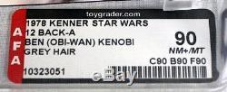 Star Wars 12 Retour-a Obi Wan Kenobi (cheveux Gris) Afa 90 Nm + / Mt # 1032305