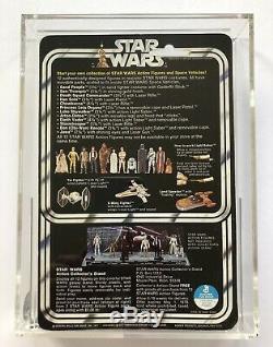 Star Wars 1977 Sand People Tusken Raider 12 Arrière-plan Vtg Kenner Moc Cas 80 Afa
