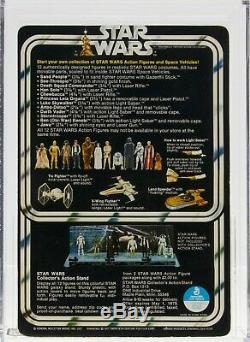 Star Wars 1978 Vintage Kenner 12 Back Une Petite Tête Han Solo Moc Afa 80+