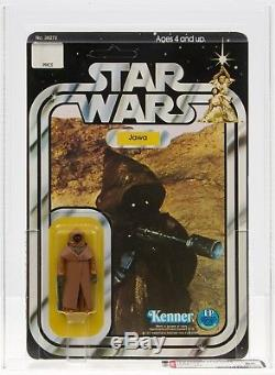 Star Wars 1978 Vintage Kenner 12 Retour A Vinyle Cape Jawa Moc Afa 85